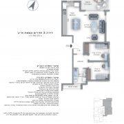 דירת 3 חדרים - שדרות חן 10